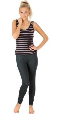 SLS Women's Dark Green Leggings