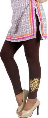 Ankita Women's Brown Leggings