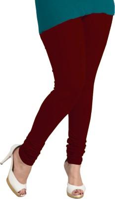 I-Diva Women's Maroon Leggings