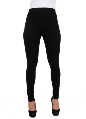 C/Cotton Comfort Women's Black Leggings