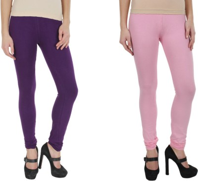 Kamaira Women's Purple, Pink Leggings
