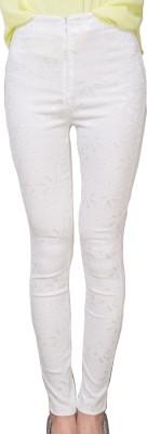 BURNN Women's White Leggings
