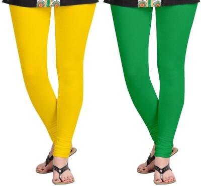 AF Sayonara Women's Yellow, Green Leggings