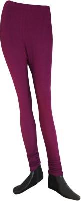 Balaji Creations Women's Purple Leggings