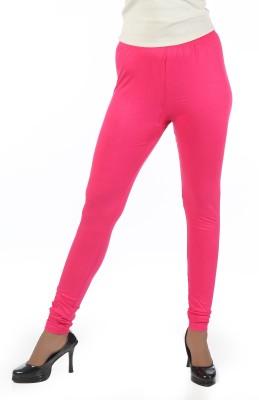 Crezyonline Women's Pink Leggings