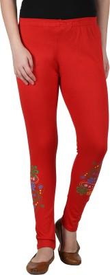 Franclo Women's Red Leggings
