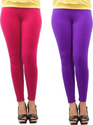 Dollar Missy Women's Pink, Purple Leggings
