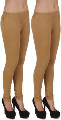Stylishbae Women's Beige, Beige Leggings