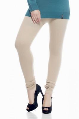 Desi Fusion Women's White Leggings
