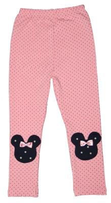 Habooz Girl's Pink, Black Leggings