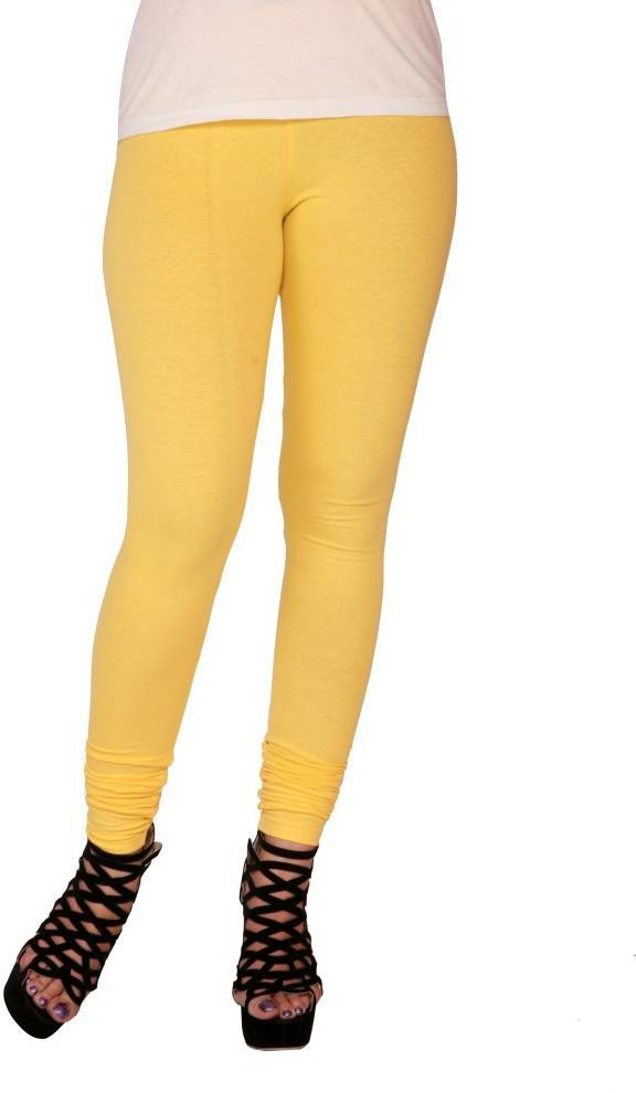 Suvasthra Weaves Womens Yellow Leggings