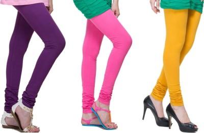 Lienz Women's Purple, Pink, Yellow Leggings