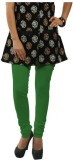 Dimpy Garments Women's Green Leggings