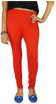 Shikha Women's Orange Leggings
