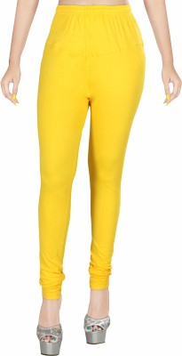 Rivory Bros Women's Yellow Leggings