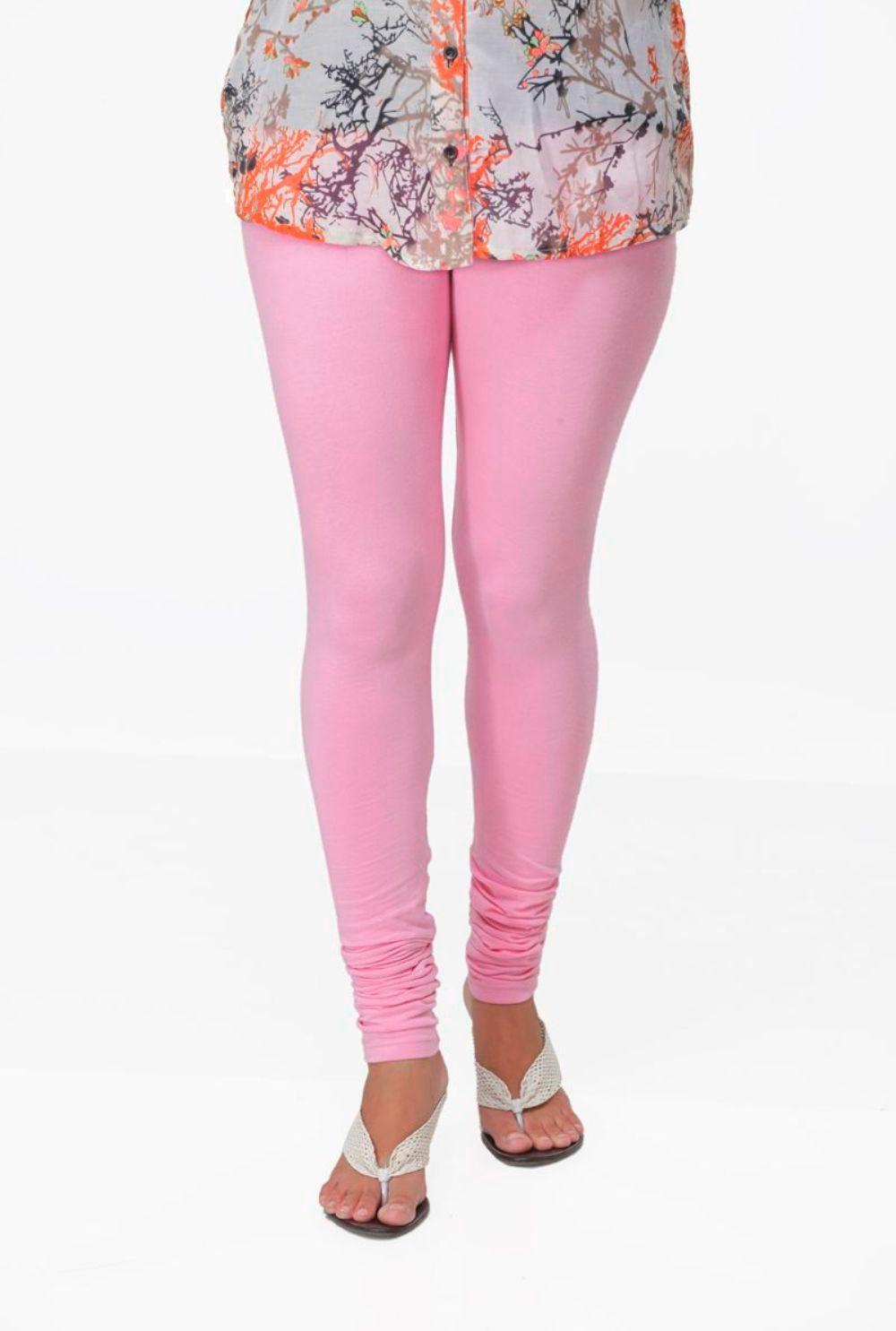 Ankita Womens Pink Leggings