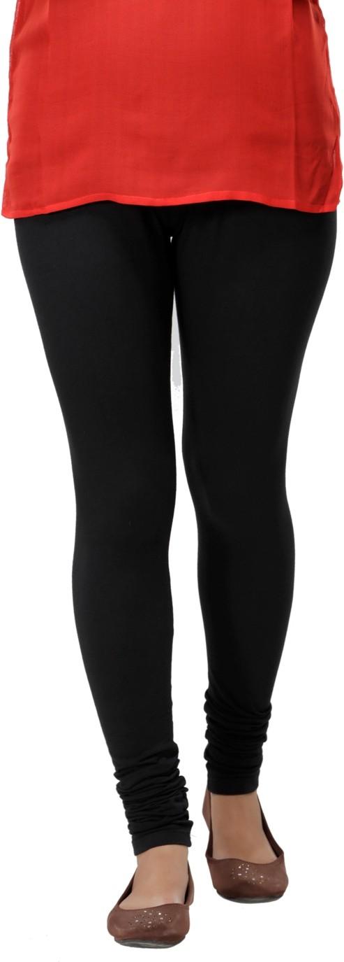 Ankita Womens Black Leggings