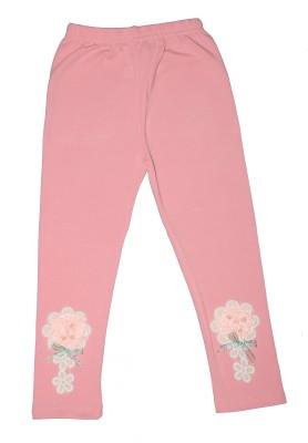 Habooz Girl's Pink Leggings