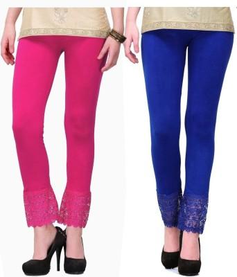 MDS Jeans Women's Pink, Blue Leggings