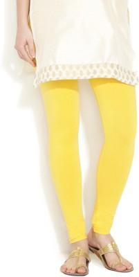 Vita Elegante Women's Yellow Leggings