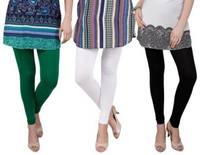 Bembee Women's Black, White, Green Leggings