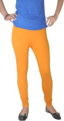Round Off Women's Orange, Yellow Leggings
