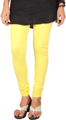 PurpleYou Women's Yellow Leggings