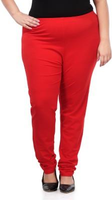 PlusS Women's Red Leggings