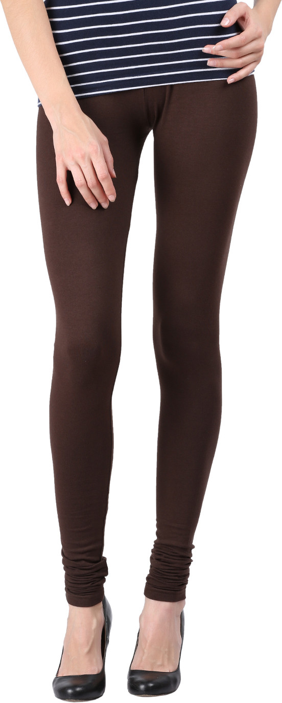 Black Milan Womens Brown Leggings
