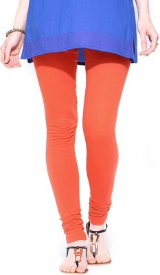 TOP ONE Women's Orange Leggings