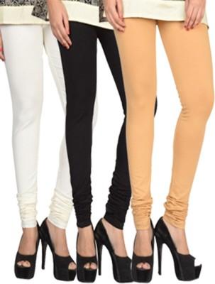 17.Hills Womens White, Black, Beige Leggings