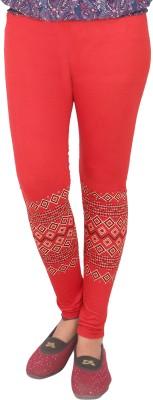 T-BRO,S Enterprises Women's Red Leggings