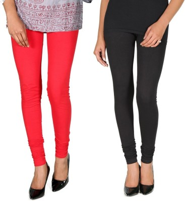 Ally Of Focker Women's Red, Black Leggings