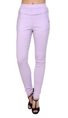 Silvercross Women's Purple Jeggings