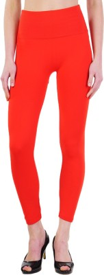 Wake Up Competition Women's Red Leggings