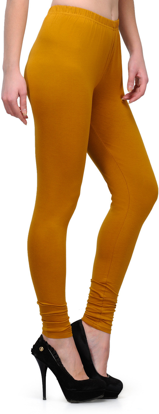 Ffu Womens Yellow Leggings