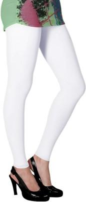 Slassy Women's White Leggings