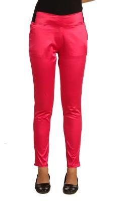 Adam n Eve Women's Pink Jeggings