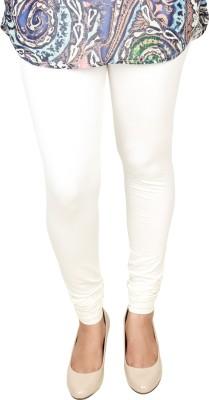 Shahfali Women's White Leggings