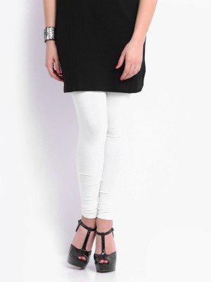Red Rose Women's White Leggings