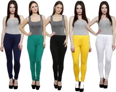 Pistaa Women's Multicolor Leggings