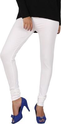 PNR Exports Women's White Leggings