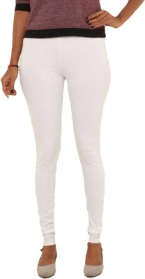 Lotusa Women,s White Leggings