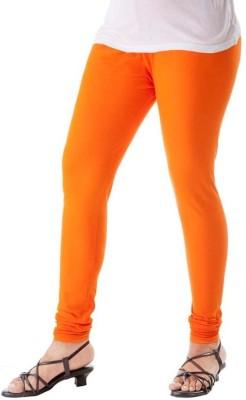 Riddhi Siddhi Women's Orange Leggings