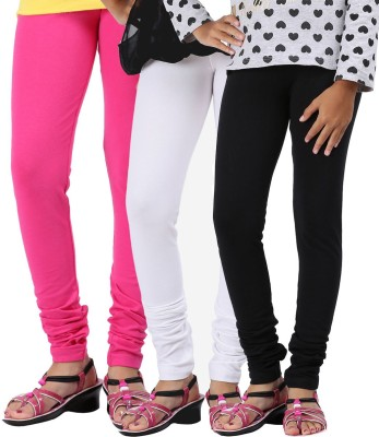 Greenwich Girl,s Pink, White, Black Leggings