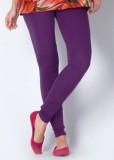 Ada Creations Women's Purple Leggings