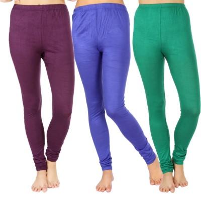 SLS Women's Purple, Blue, Green Leggings
