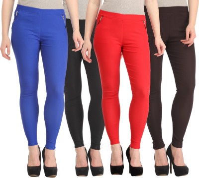 FASHION SHOPPE Women's Multicolor Jeggings