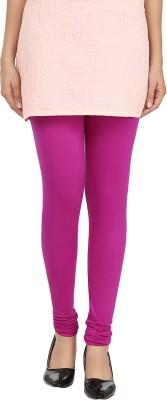 A3K Women's Purple Leggings