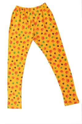Earth Conscious Girl's Yellow Leggings